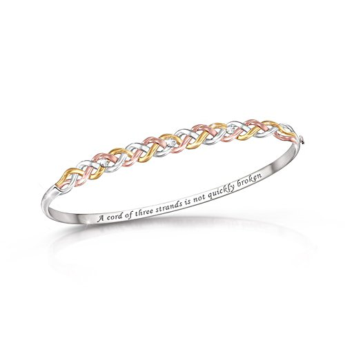 'Strength Of Our Faith' Diamond Bracelet