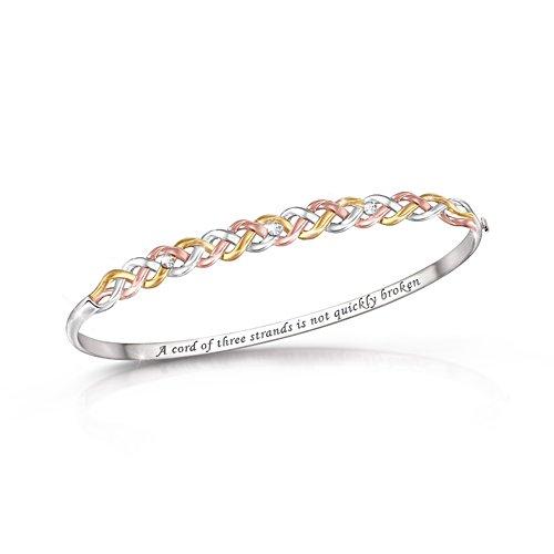 'Strength Of Our Faith' Diamond Bracelet