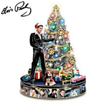 Elvis™ 'Rock 'N' Roll' Pre-Lit Tabletop Christmas Tree