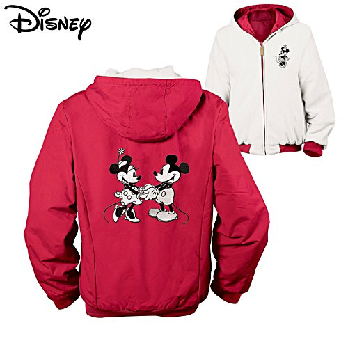 Disney 'Mickey And Minnie' Reversible Ladies' Jacket