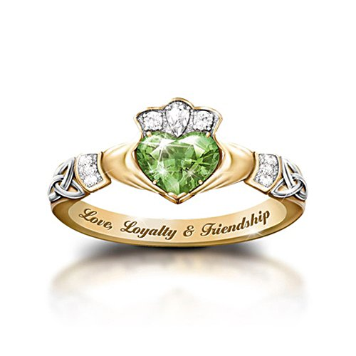 'Reflections Of Ireland' Diamonesk® Ring
