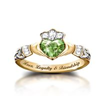 'Reflections Of Ireland' Diamonesk® Ring