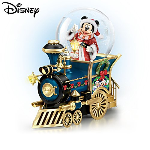Disney 'Santa Mouse Is Comin' To Town' Miniature Snowglobe