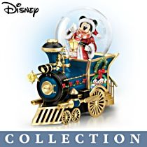 Disney 'Wonderland Express' Snowglobe Train Collection