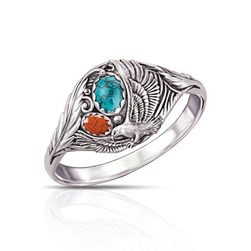'Spirit Of The Eagle' Turquoise Ring