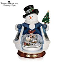 Thomas Kinkade ''Tis The Season To Be Jolly' Snowman