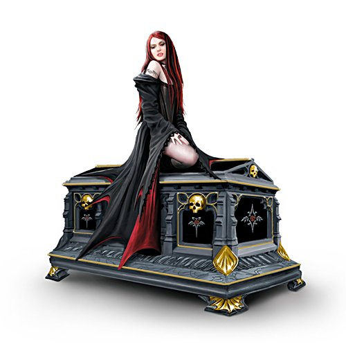 'Love Without End' Gothic Vampire Crypt Music Box