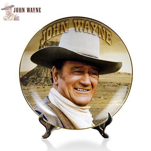 John Wayne 'Heroic Legend' Collector Plate