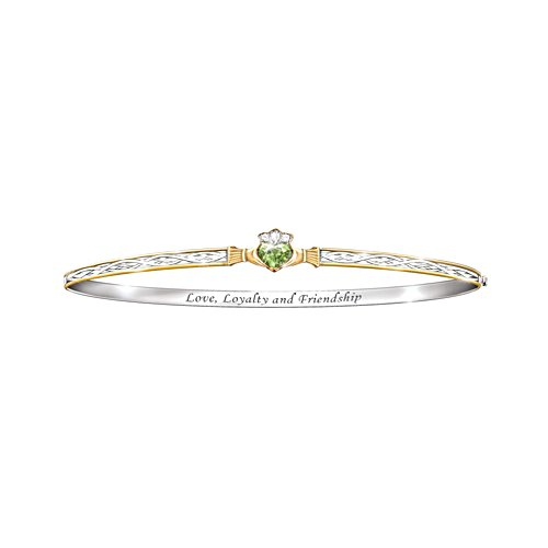 'Celtic Devotion' Peridot Bracelet