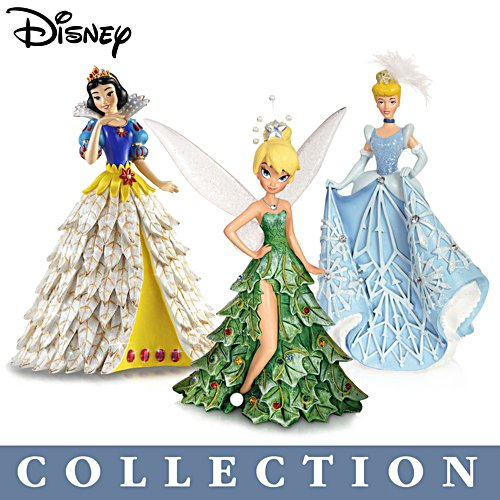 Disney 'All Decked Out For The Holidays' Figurine Collection