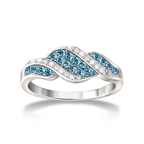 'Cascade Of Beauty' Diamond Ladies' Ring