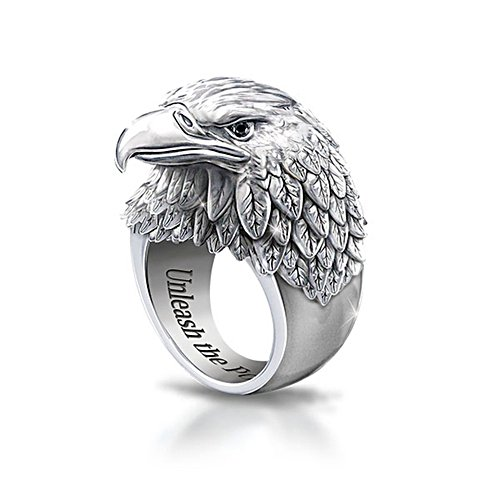 'Strength And Pride' Eagle Ring