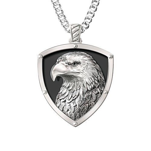 'Strength And Pride' Eagle Pendant