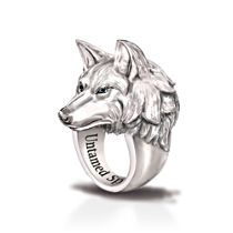 'Leader Of The Pack' Wolf Ring