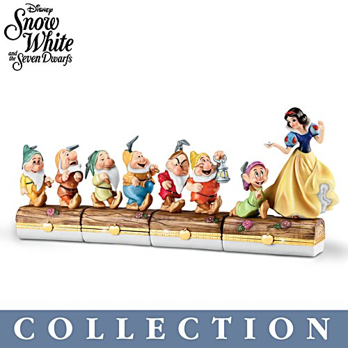 'Snow White And The Seven Dwarves' Limoges-Style Collection