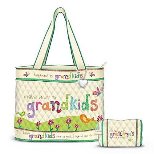 'Grandkids Rule!' Ladies' Tote Bag