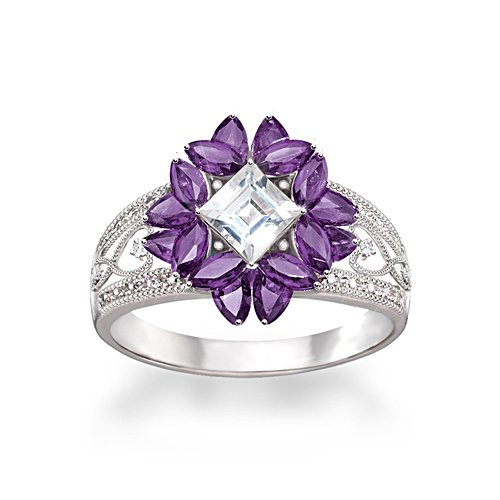 'Twilight Lavender' Amethyst Ring