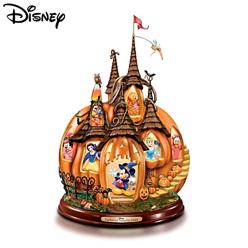 Disney 'Enchanted Pumpkin Castle' Sculpture