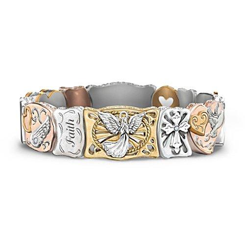 'Faith Is Believing' Artisan Bracelet