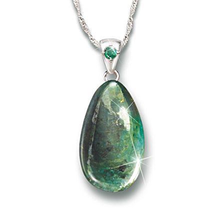 'Nature's Treasure' 25-Carat Emerald Pendant