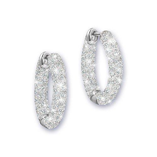'Love's Whisper' Diamond Earrings