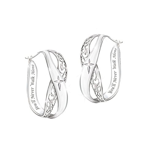 'Pure Faith' Diamond Earrings