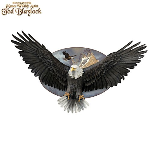 'Wings Of Power' Eagle Wall Décor