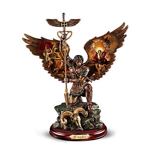 'Raphael: Merciful Healer' Warrior Bronze Sculpture