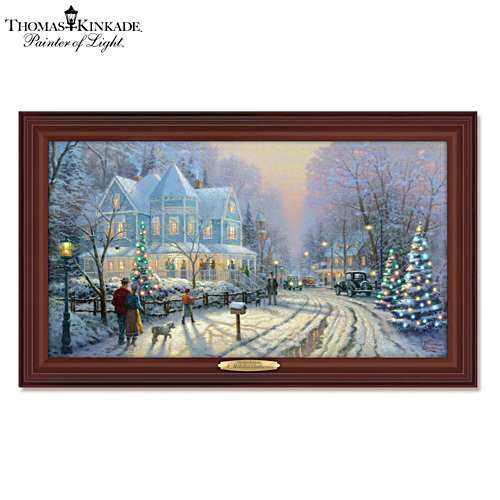 Thomas Kinkade 'A Holiday Gathering' Wall Décor