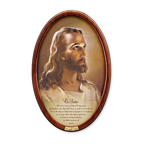 'The Lord's Prayer' Framed Collector Plate