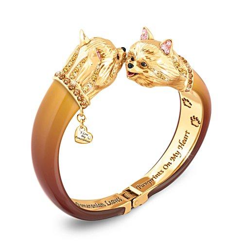 'Sophistipups' Pomeranian Bracelet