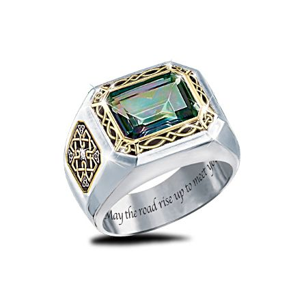 'The Legend Of Ireland' Mystic Topaz Ring