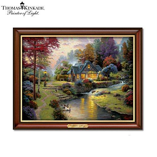 Thomas Kinkade 'Stillwater Cottage' Wall Décor