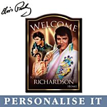 Elvis™ Personalised Wall Décor