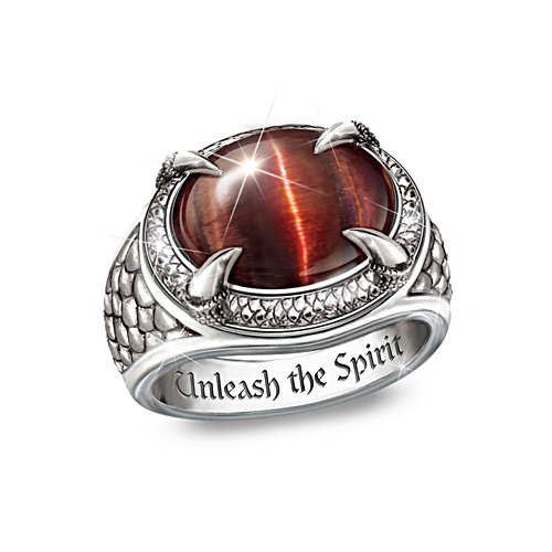 'Dragon Eye' Men's Ring