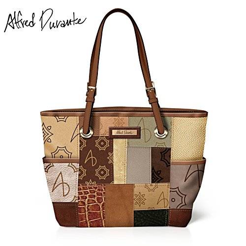 Alfred Durante 'South Hampton' Patchwork Tote Bag