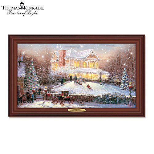 Thomas Kinkade 'Victorian Christmas II' Wall Décor