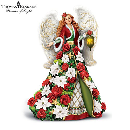 Thomas Kinkade 'Blessings Of The Season' Figurine