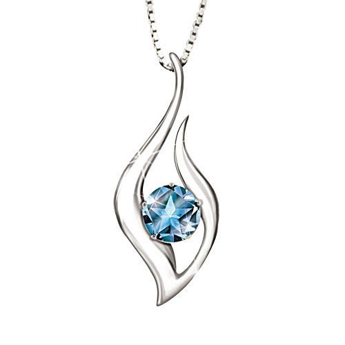'Reach For The Stars' Granddaughter Topaz Pendant