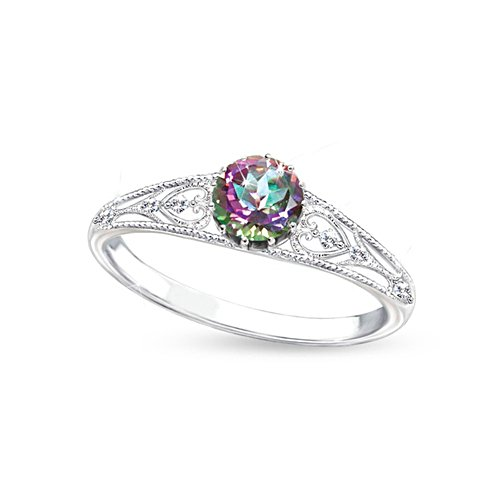 'Shades Of Passion' Mystic Topaz Ladies' Ring