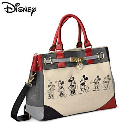 Disney Mickey And Minnie 'Love Story' Handbag