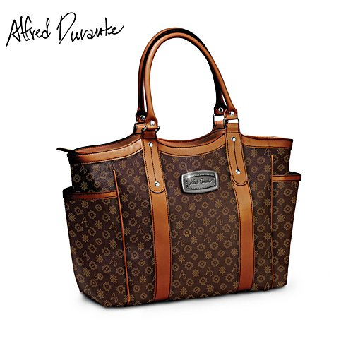 Alfred Durante 'Uptown' Signature Shoulder Tote