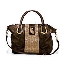 'Kitty Chic' Ladies' Satchel Handbag