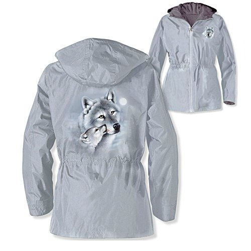 'Guardians Of The Wild' Wolf Ladies' Jacket