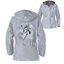 'Guardians Of The Wild' Wolf Women's Jacket