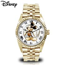 Disney 'Treasured Moments With Mickey Mouse' Men's Watch