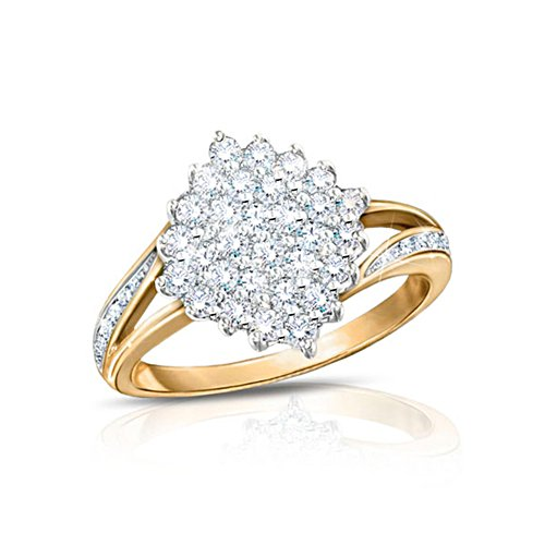 'Diamond Delight' 50 Diamond Ring