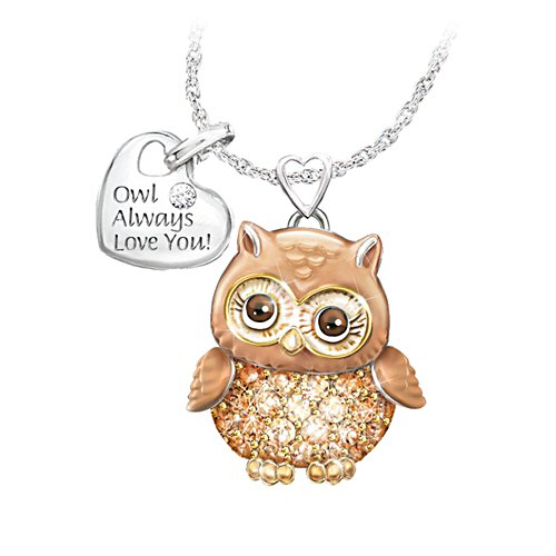 'Granddaughter Owl Always Love You' Pendant