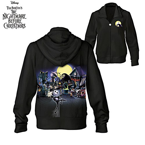 Disney Tim Burton 'The Nightmare Before Christmas' Ladies' Hoodie