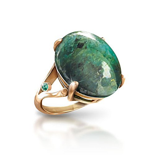 'Emerald Legend' 12-Carat Emerald Ladies' Ring